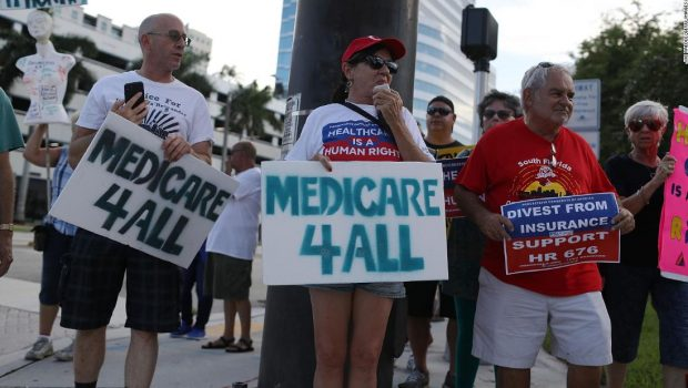 White House slams 'Medicare for All' as bad for Americans' health and wallets