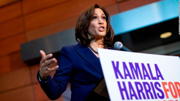 Kamala Harris calls for federal investment to raise teachers' salaries