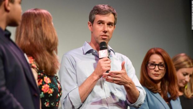 Beto O'Rourke apologizes for jokes about wife, says he has benefited from 'white privilege'