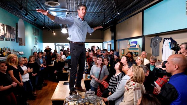 Beto O'Rourke's launch: Big promises, apologies and unanswered questions