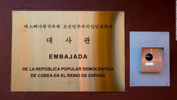 Feds arrest man in connection with a February raid on the North Korean Embassy in Madrid