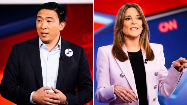 Seven takeaways from CNN's town halls with Andrew Yang and Marianne Williamson