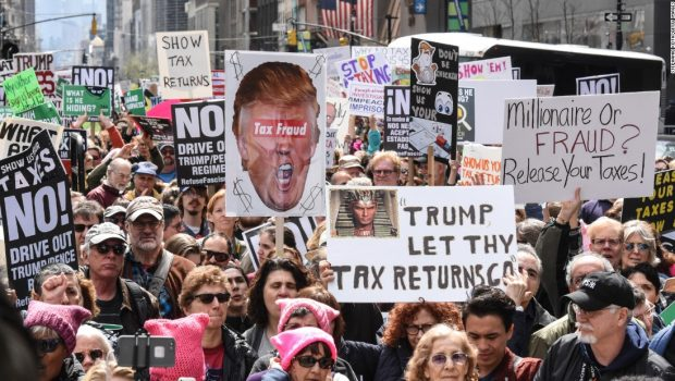 It just got harder for Donald Trump to keep his tax returns a secret