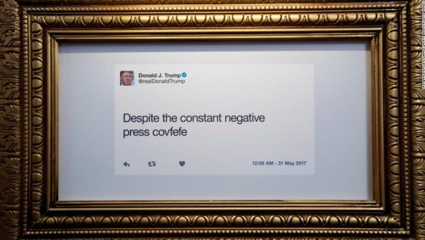 The Point: Donald Trump's 'typewriter' theory of Twitter