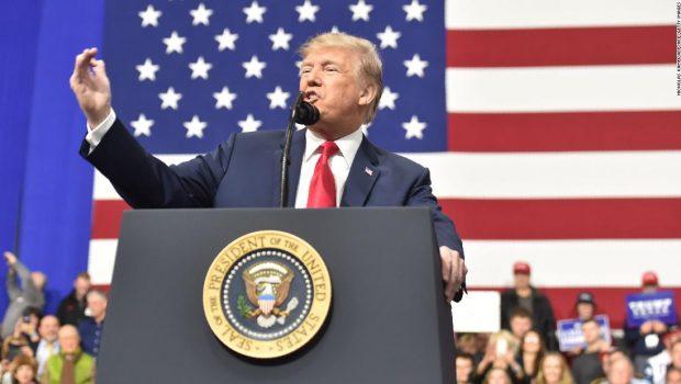 Trump eyes Biden as he ramps up reelection bid with Pennsylvania rally