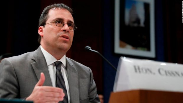 Trump's Citizenship and Immigration Services director out