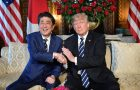 Trump arrives in Japan eager for flattery and pomp
