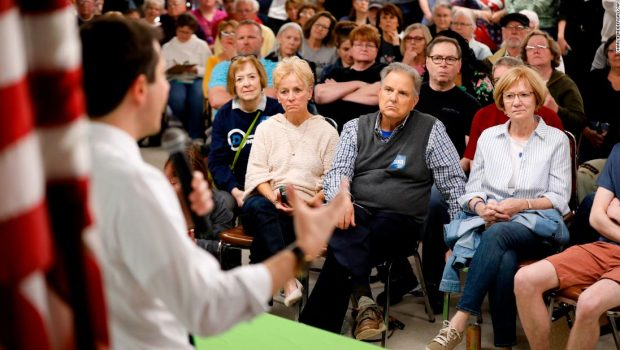 'Seniors for Buttigieg': Why voters twice his age feel drawn to the millennial mayor