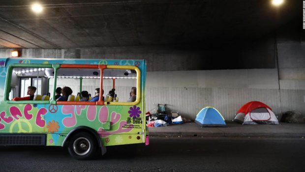 Los Angeles' homeless crisis: too many tents, too few beds