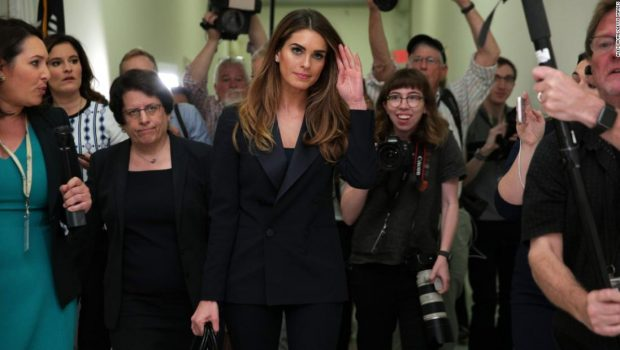 Hope Hicks says she told 'white lies' only about small matters